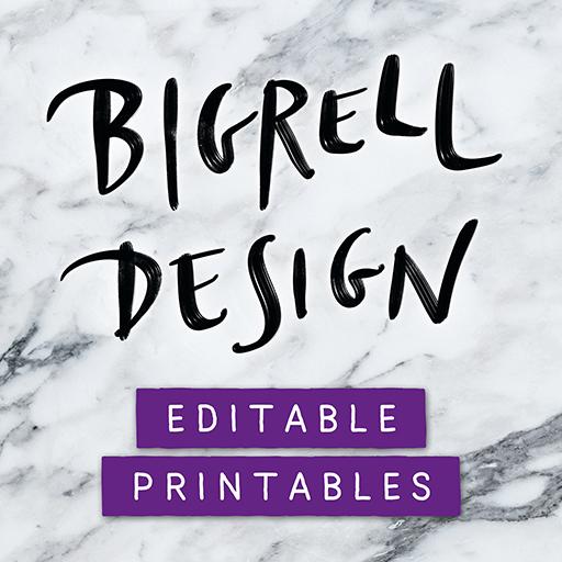 Bigrell Design Logo
